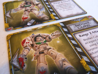Space Hulk: Death Angel - Deathwing character cards