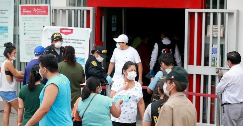 BONO DE S/ 380 EN PERÚ: Conoce qué bancos pagarán desde hoy lunes en 15 regiones