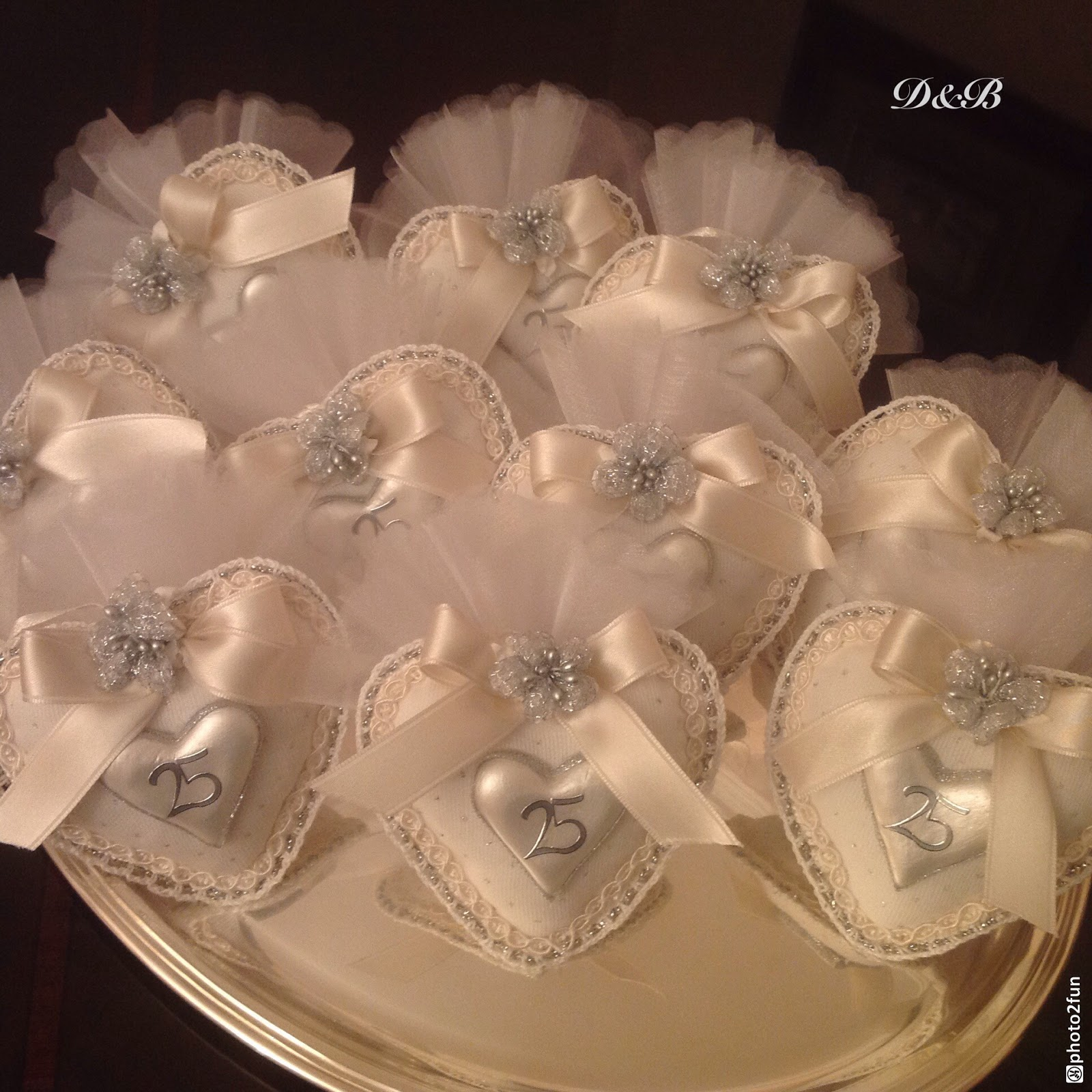 Delizie bijoux by mary 25 anni insieme for Anniversario matrimonio 25