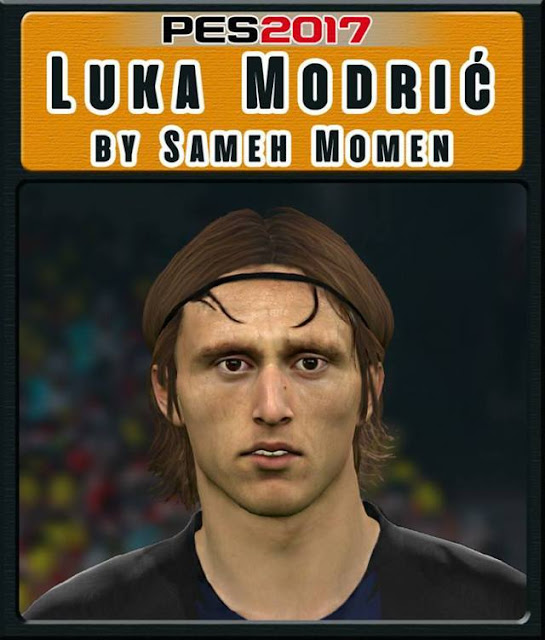 Luka Modric New Face PES 2017