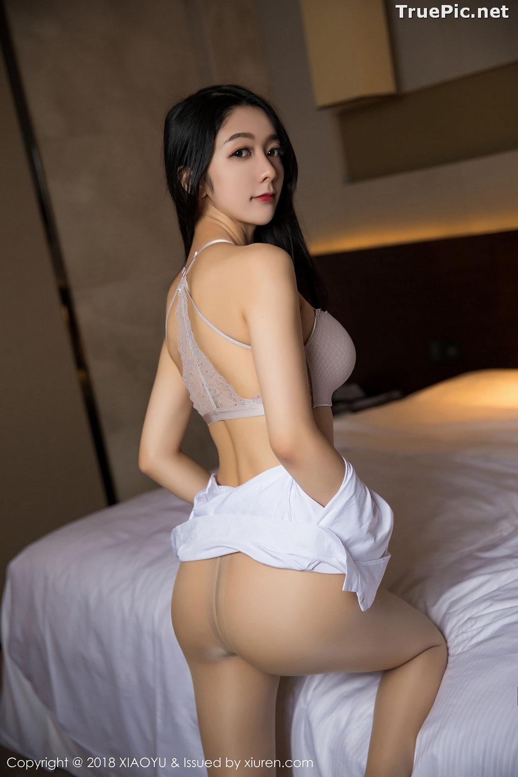 Image XiaoYu No.004 - Chinese Model - Xiao Reba (Angela喜欢猫) - White Sexy Nurse - TruePic.net - Picture-39