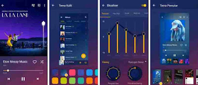 Aplikasi Musicolet Pemutar Musik