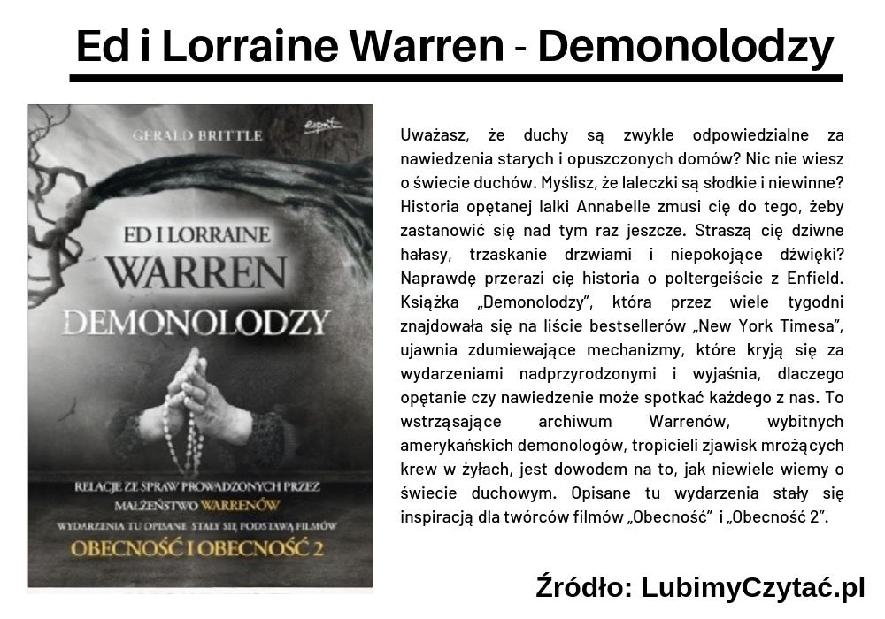 Ed i Lorraine Warren - Demonolodzy, Topki, Marzenie Literackie