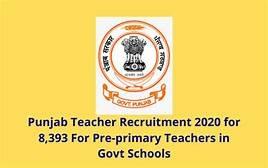 Punjab Teacher Recruitment 2020-21