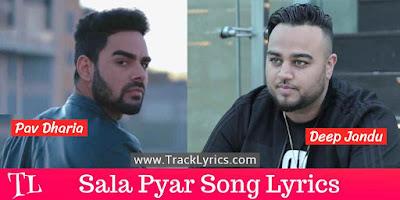 sala-pyar-lyrics