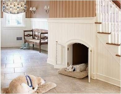 10 ideas para usar el espacio bajo la escalera colores - Escaleras para perros pequenos ...
