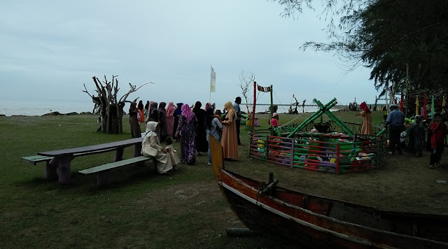 Wisata Laut Pangah, Desa Ie Rhop Gandapura Kabupaten Bireuen