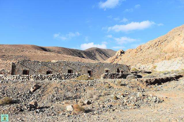 Camino hacia el Arco de las Peñitas, Fuerteventura