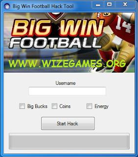 Big Win Football 2012 SUPER HACK CHEATS ~ WIZEGAMES.ORG