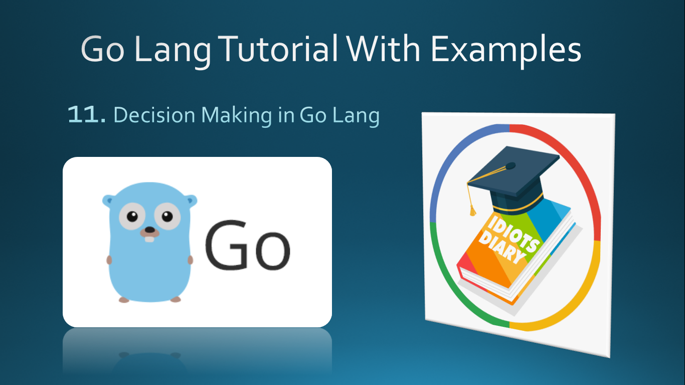 decision making statements in go lang