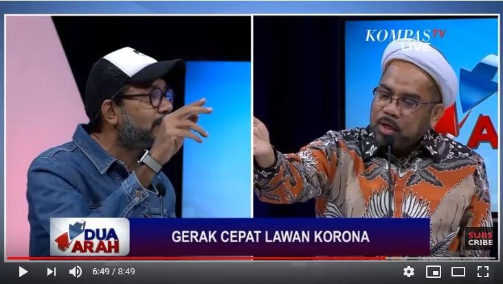 Terlibat Debat Panas soal Corona, Haris Azhar: Lockdown Dulu Ali Ngabalin