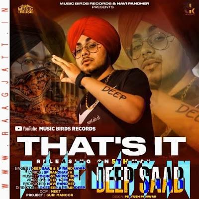 That's It by Deep Saab Ft SP Randhawa lyrics