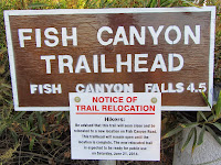Fish Canyon access trail