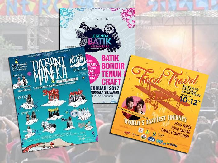 Jadwal Event Bandung Bulan Februari 2017