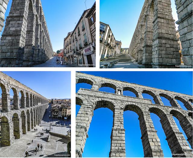 Aqueduto de Segóvia, Espanha