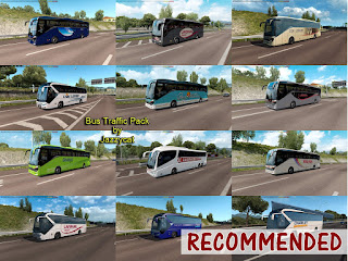 ets 2 bus traffic pack v6.0 by jazzycat