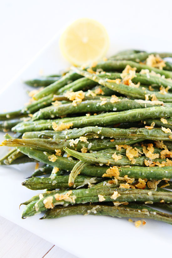 ROASTED PARMESAN GREEN BEANS #parmesan #roasted #vegetarian #food #easy