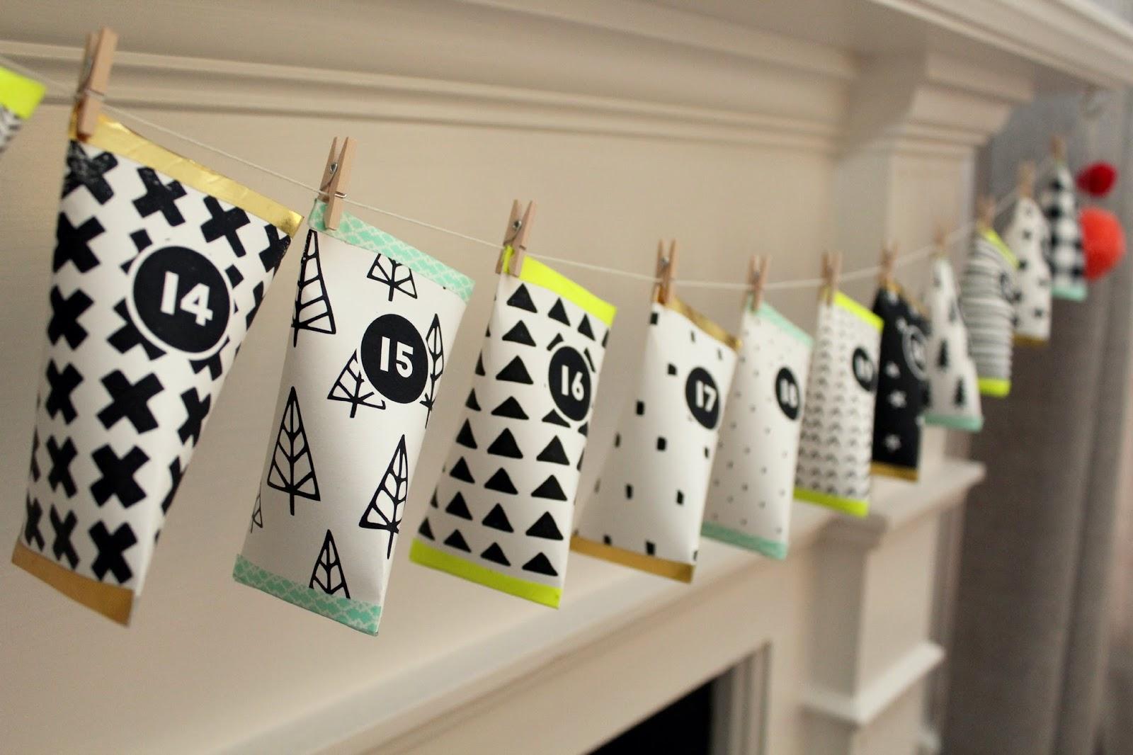 Advent Calendar Village Diy : Musings of an average mom christmas advent calendar