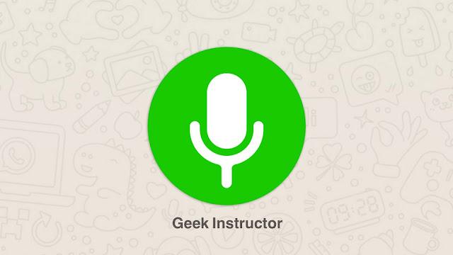 Find WhatsApp voice notes