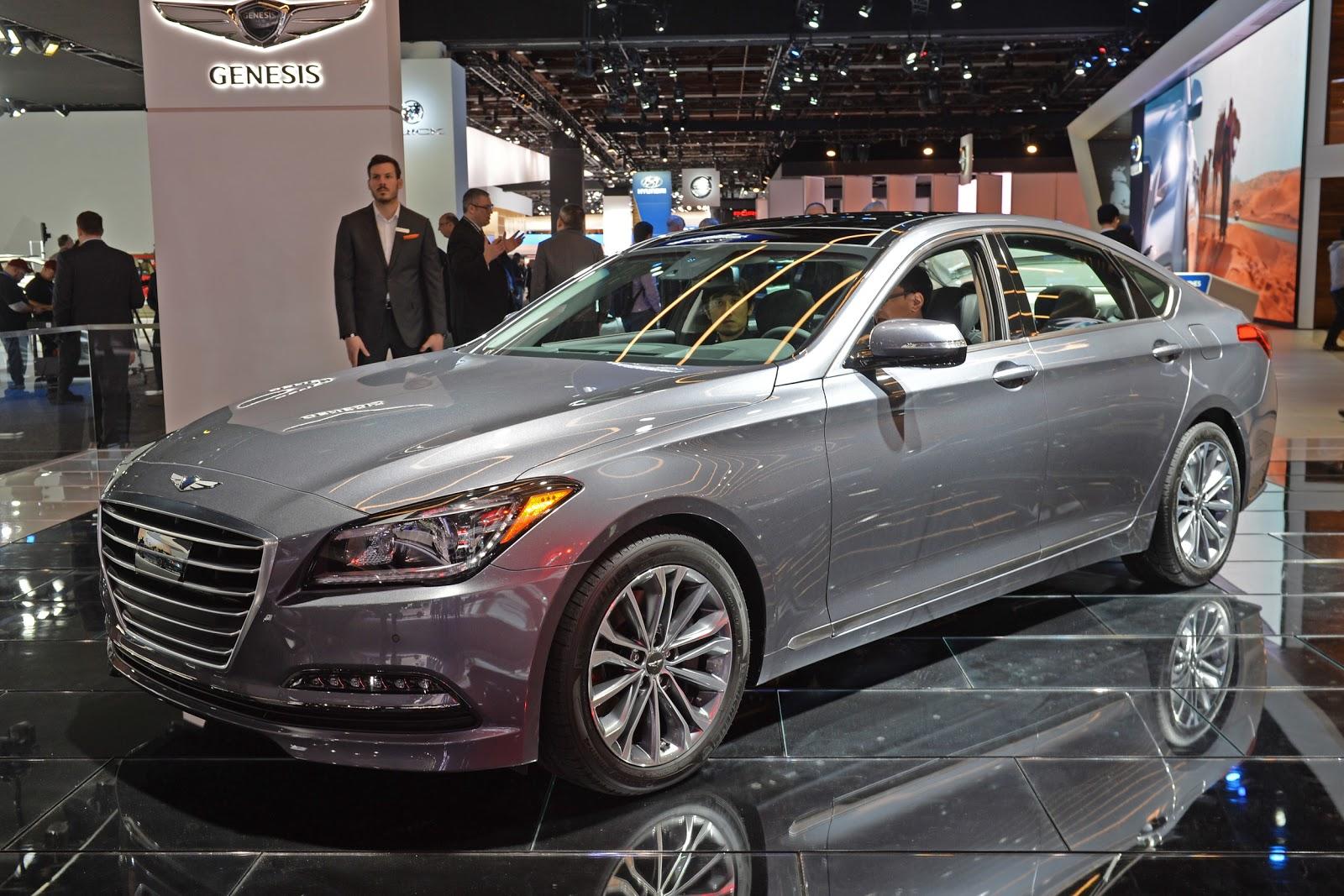 Chiếc xe điện Hyundai Genesis sẽ được xem là phiên bản riêng của chiếc G80