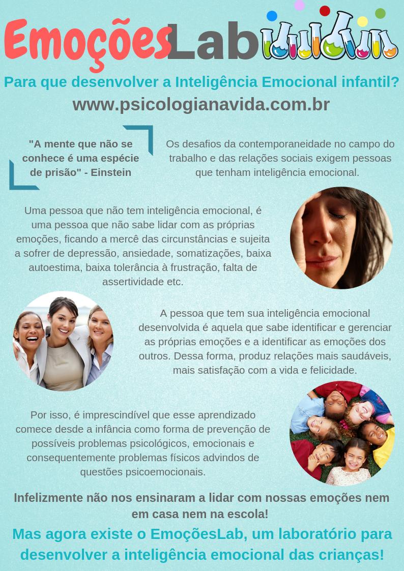Inteligência Emocional, Desenvolvimento Infantil, Atividades para crianças