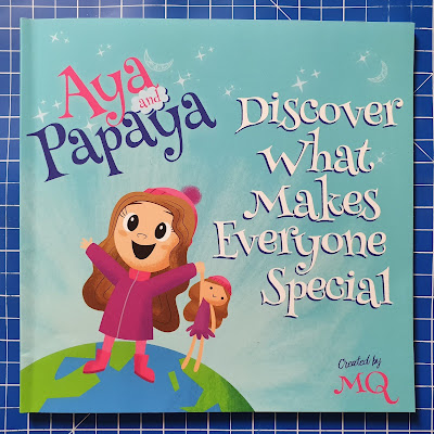 Aya And Papaya discover what makes everyone special children's book cover