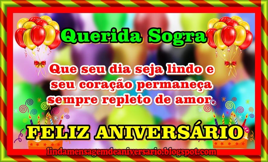 Parabéns Sogra Querida: Mensagem De Aniversario