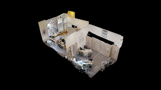 Small Office Space 3D Dollhouse