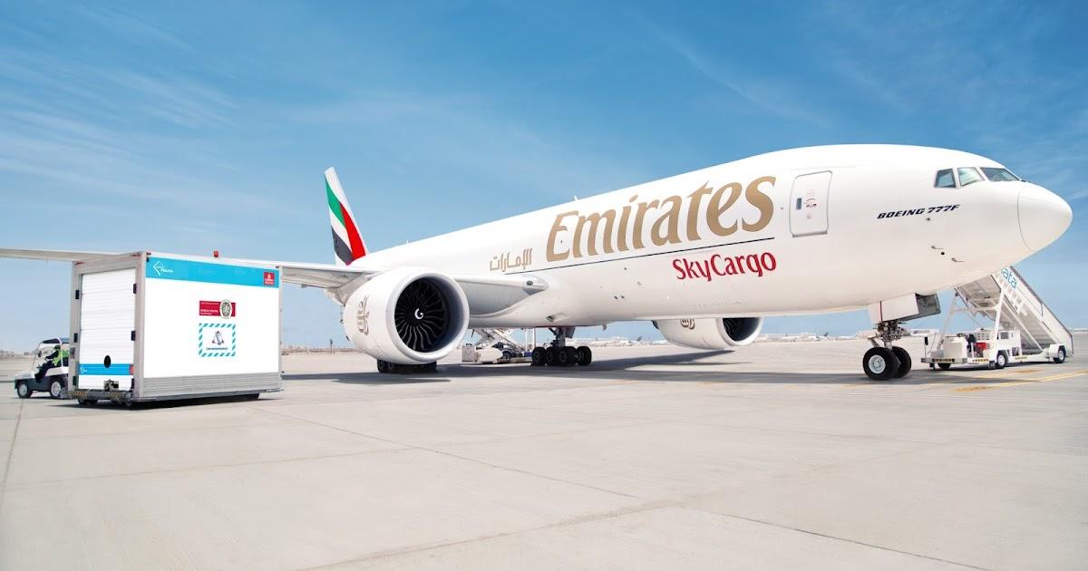 Emirates SkyCargo crosses COVID-19 vaccine transportation milestone