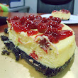 Life is colorful: Baked Cherry Cheesecake untuk Birthday Datuk Tiger
