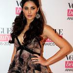 Nargis Fakhri & Angela Jonsson at Vogue Beauty Awards