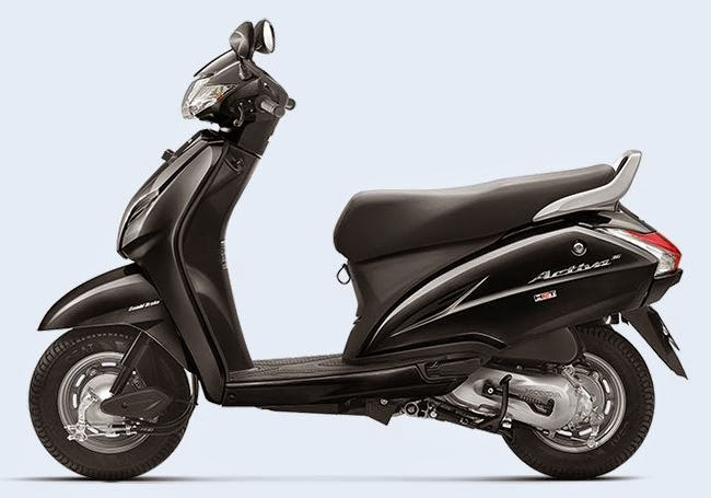 Honda Activa 3G Black Color