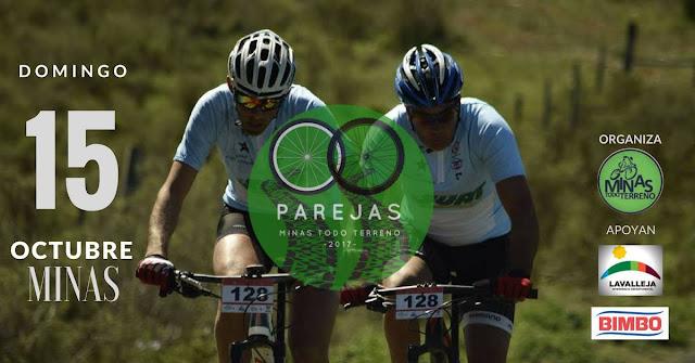 MTB - Carrera de parejas en Minas (Lavalleja, 15/oct/2017)
