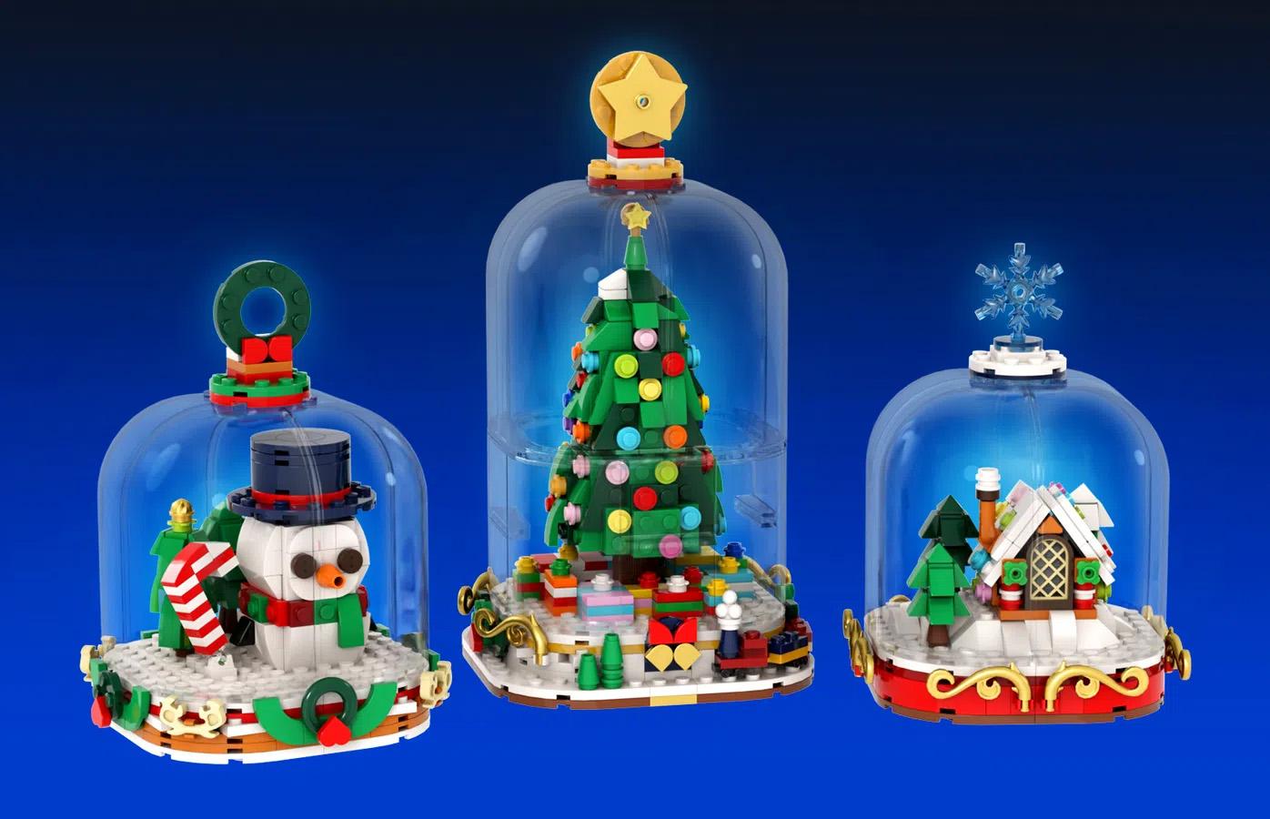 レゴアイデアで『冬のスノードーム』が製品化レビュー進出!2021年第1回1万サポート獲得デザイン紹介