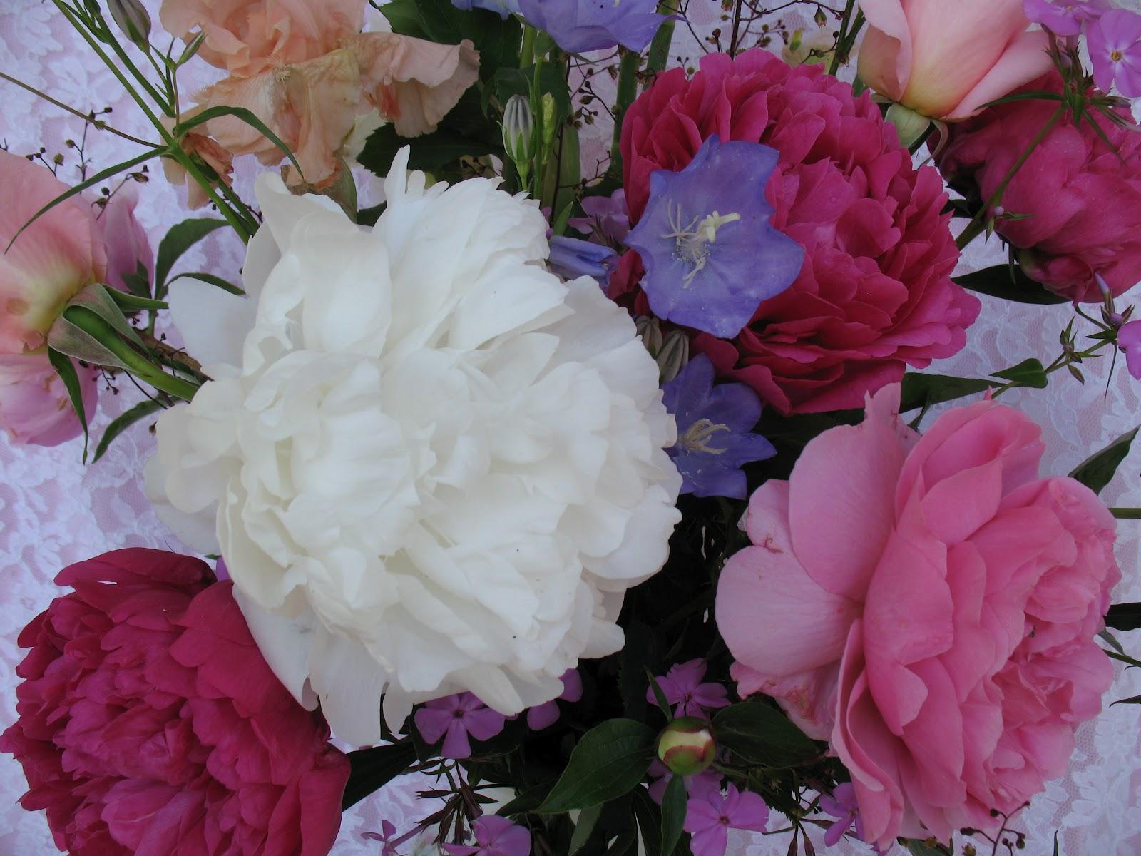 roses du jardin ch neland bouquet pivoine et iris. Black Bedroom Furniture Sets. Home Design Ideas