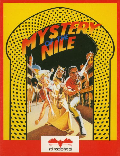Portada videojuego El Misterio del Nilo - Spectrum ZX