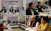 Sesiona la comisión de Justicia del congreso del estado
