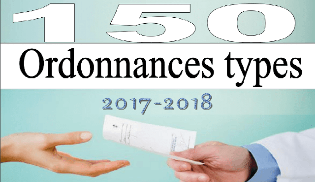 Télécharger | Collection 150 Ordonnaces Types 2018 PDF