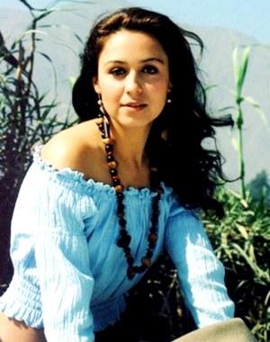 Foto de Marisol Muguerza más joven