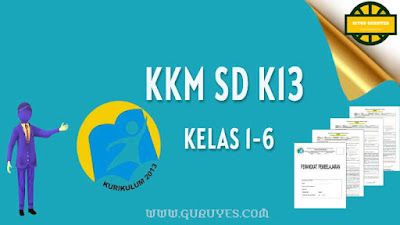 Dalam rangka melengkapi perangkat pembelajaran Pjokmaka admin menyediakan  Download KKM Pjok K13 SD Kelas 1- 6 Revisi Terbaru