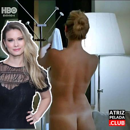 """Karen Junqueira nua em cena de sexo na série """"Preamar"""""""
