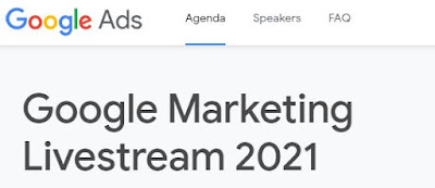 Join Google Marketing Livestream 2021