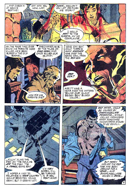 Brave and the Bold v1 #93 dc comic book page art by Neal Adams