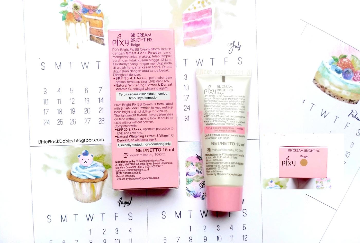 Pixy Bb Cream Bright Fix Beige Review Little Black Daisies