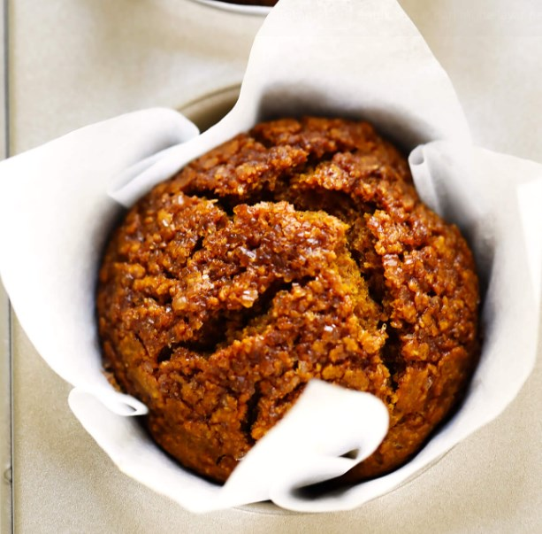 HEALTHY PUMPKIN MUFFINS #healthy #breakfast