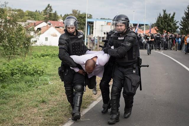 Két nigériai férfit tartóztatott le a szlovén rendőrség embercsempészetért