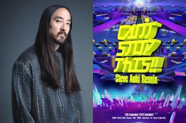 "3D Avatar Steve Aoki Berdansa di Musik Video Remix: Lagu Dansa Jepang Tahun 90an ""Cant't Stop This!!"""