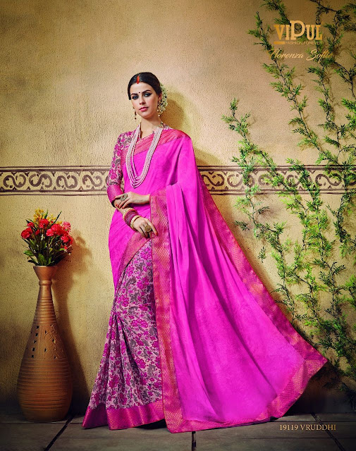uy Online Party Wear Saree Collection Vipul Fashion at Wholesale Price