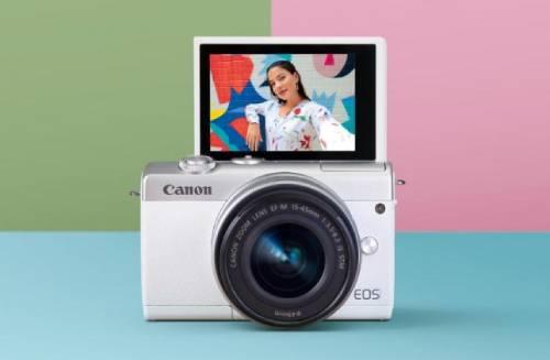 Canon EOS M200 Di Indonesia