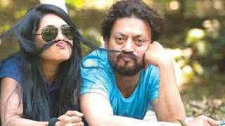 Nusrat Imrose Tisha With Bollywood Actor Irrfan Khan